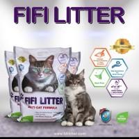 Pasir Kucing FIFI Liter 10 L whait