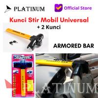 KUNCI STIR PENGAMAN MOBIL T ARMORED BAR ORIGINAL SAFETY LOCK ARMORED