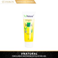 Whitening Exfoliating Serum Gel Temulawak/V Natural/BPOM