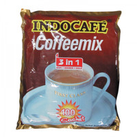 INDOCAFE COFFEE MIX 3 IN 1 BAG 100X20g