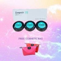 Longrich Natural Essence Bamboo Charcoal Soap Box isi 3pc