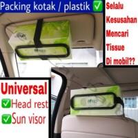 Penjepit Box Tempat Tissue Mobil Car Holder Tissue Best / Penyangga