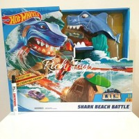 HOTWHEELS HOT WHEELS TRACK SHARK BEACH BATTLE