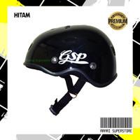 Helm Sepeda Bike Cycling Outdoor Sports Helmet - GSP Hitam