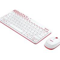 Logitech Wireless Combo Keyboard + Mouse Mk240 - Hitam Isabelstore12