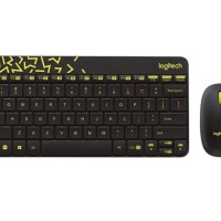 Logitech Mk240 Nano Wireless Keyboard And Mouse Combo / Grs 3 Tahun