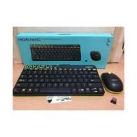 Logitech Mk240 Nano Paket Wireless Keyboard Mk240 Mouse Combo Mk240