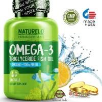 Ready Stock Naturelo - Premium Omega-3 Fish Oil - 1100 Mg Triglyceride
