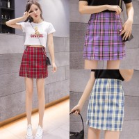 (#8201)Rose A Line Skirt/High Waist Mini Skirt dengan Potongan A-Line