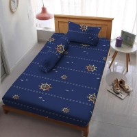 Sprei Kintakun D'luxe - PIRATE BLUE - 120x200 (Single)