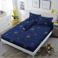 Sprei Kintakun D'luxe - PIRATE BLUE - 160x200 (Queen) - Tinggi 20cm
