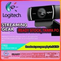 Webcam Logitech C922 Pro Stream 1080P Camera - Recording 720P at 60Fps