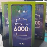 Infinix Hot 9 Play 3/64 Original Ram 3GB Internal 64GB Garansi Resmi