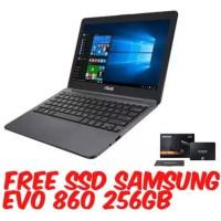 ASUS E203MAH 11.6 2GB 500GBWIN 10 Laptop Notebook FREE SSD SAMSUNG EVO