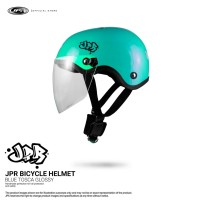 JPR SKATE/KACA - GREEN TOSCA GLOSS/BLACK