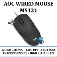 AOC Office Wired Mouse MS121 / MS-121 - Original Product