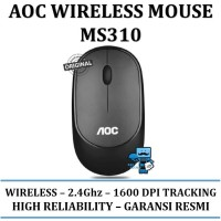 AOC Office Wireless Mouse MS310 / MS-310 - Original Product