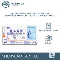 Buchang Shenshao Capsule - Obat Sirkulasi Darah
