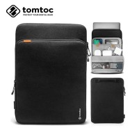 Tas Laptop Tablet iPad Sleeve Tomtoc Protective Case 11 12 inch- Hitam