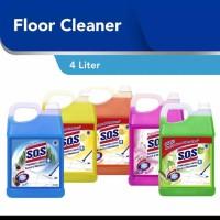 SOS Pembersih Lantai Jerry Can 4 liter