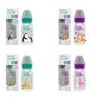 VITAFLOW Botol Susu Multifungsi PP 140ml Dot Size S - Animal series