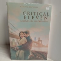 NOVEL ORIGINAL Critical Eleven by Ika Natassa