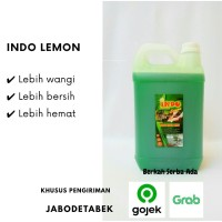 Indo Lemon (sabun cuci piring murah) 5 Liter(best seller)
