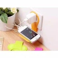 Penahan HP Dinding Charger Stand Bracket Holder