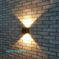 Lampu Dinding Taman Led 1x2Watt Waterproof Outdoor - Putih