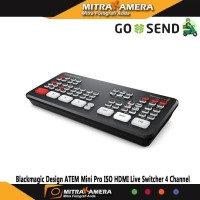 Blackmagic Design ATEM Mini Pro ISO HDMI Live Switcher 4 Channel