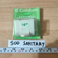 Kapasitor 14uf Icar Ecofill Kotak - Capacitor Otomatis Pompa Capasitor