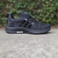 Sepatu Adidas Neo Zoom Running Full Black