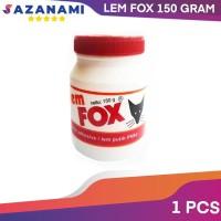 LEM FOX 150 GRAM LEM PUTIH PVAC BAHAN UNTUK SLIME