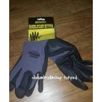 sarung tangan kerja / krisbow glove nylon nitrile mechanical
