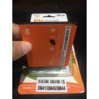Baterai Xiaomi Redmi 1s BM41 2000Mah Original Packing Kertas
