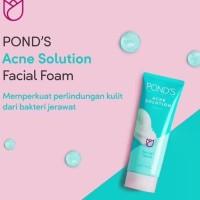 Ponds Acne Solution Anti Acne Facial Foam 100gr