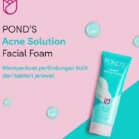 Ponds Acne Solution Anti Acne Facial Foam 50gr