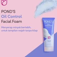 Ponds Oil Control Oil-Free Look Facial Foam 50gr
