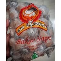 BAKSO SONY/SONHAJISONY LAMPUNG BESAR (INCLUDE BUMBU) +/- 50 BUTIR BASO