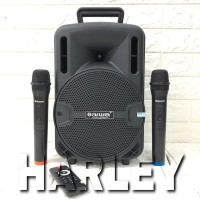 Speaker Portable Amplifier Wireless N AIWA WAS 108 LVE - 8 inch