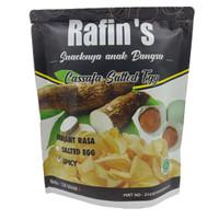 Rafin's Snack Keripik Singkong Varian Telur Asin Pedas - 130gr