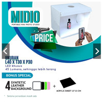 Studio Mini Portable Midio + 4 Background SP1445