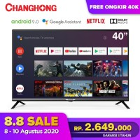 Changhong Google certified Android Smart TV 40 inch 40H4 LED TV-L40H4