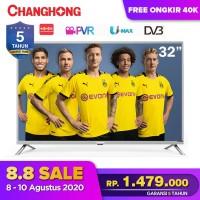 32 Inch LED Digital TV changhong TV 32H1 HD TV-HDMI-USB Moive-L32H1