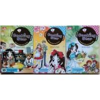Paket 3pcs Komik Edu comics Anak Remaja Masak Resep Cooking Star 1 2 3