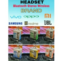 Earphone Headset Handsfree Headphone Bluetooth SAMSUNG OPPO XIAOMI