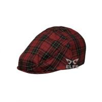 Elfs Topi Pelukis Flatcap Katun Motif Painter Hat