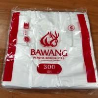 KANTONG PLASTIK BENING - HDPE BAWANG - UKURAN 24 BENING - 300 GRAM
