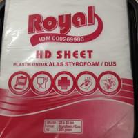 PLASTIK HD SHEET UK 25 X 35 CM - PLASTIK TATAKAN LEMBARAN ALAS MAKANAN