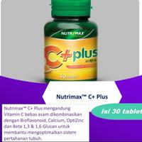 Nutrimax c plus bpom resmi..Nutrimac C+ multivitamin